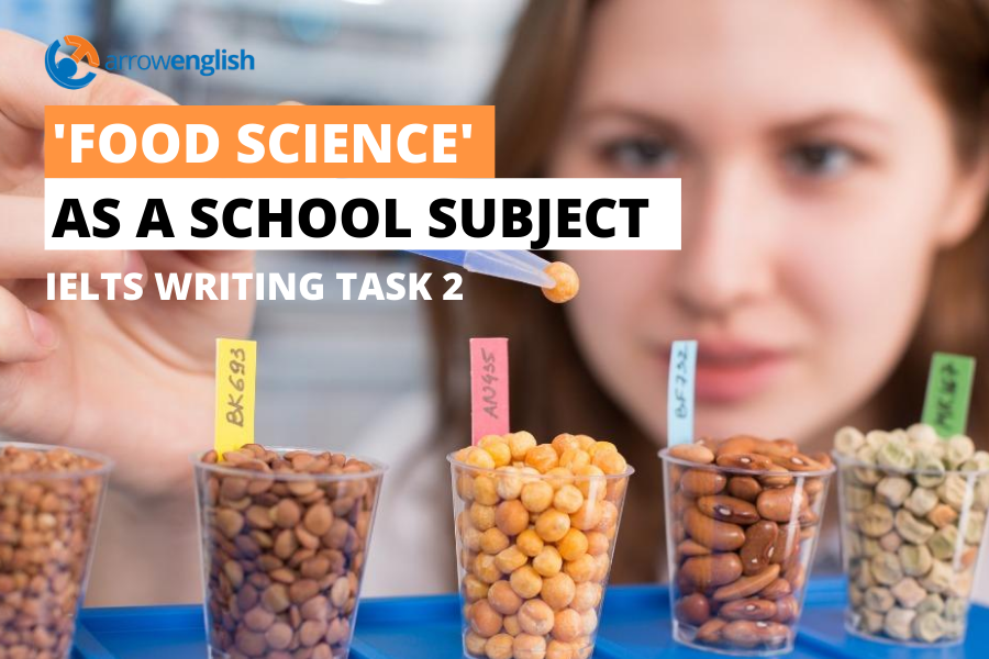 writing sample FOOD SCIENCE